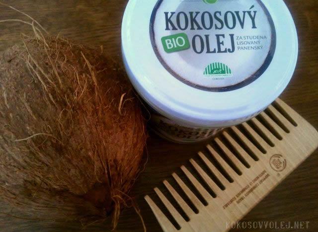 bio kokosovy olej pre krasne a zdrave vlasy