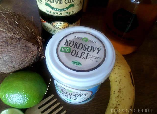 domace masky na vlasy z kokosoveho oleja