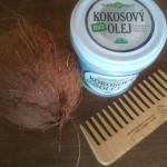 panenský kokosový olej pre krásne a zdravé vlasy