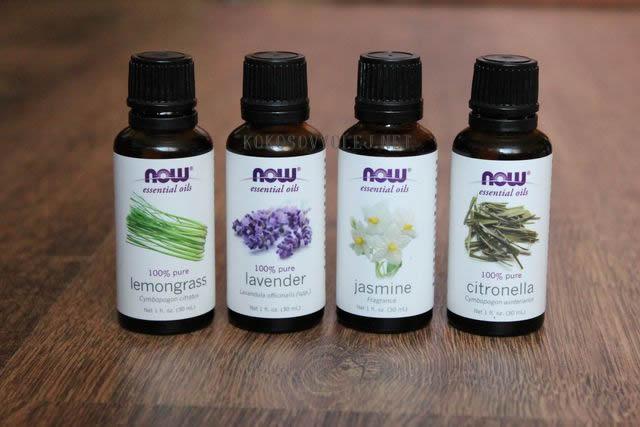 esencialne oleje proti hmyzu
