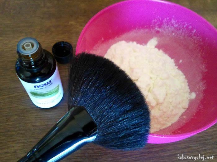 suchý šampón pre svetlé vlasy