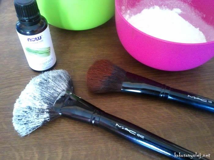 vyrobte si domáci bio suchý šampón na vlasy