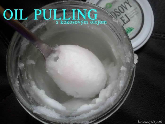 oil pulling - olejová terapia pre zdravie