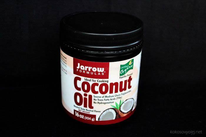 Jarrow formulas kokosovy olej