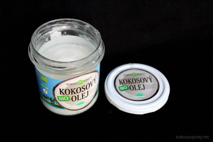 bio kokosový olej purity vision