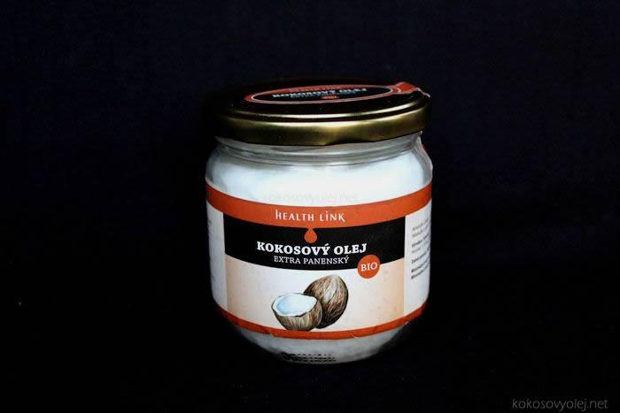 extra panenský kokosový olej healthlink