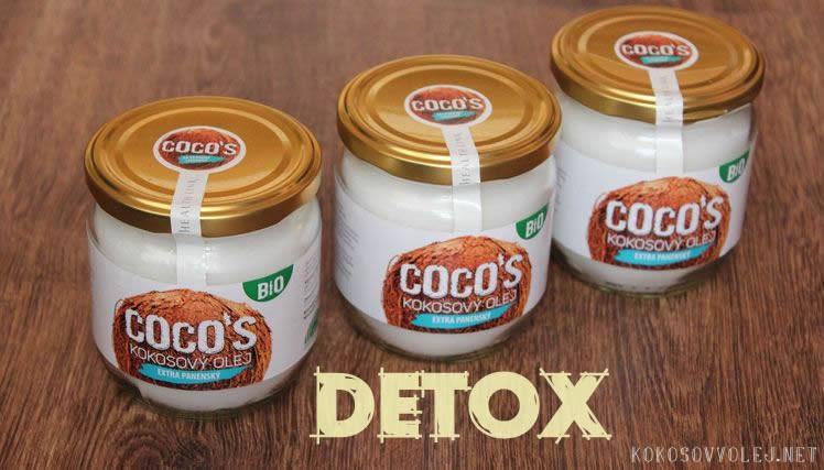 detox organizmu s kokosovym olejom