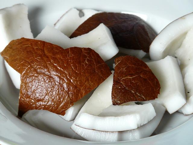 kokos, kokosovy orech, kokosova duzina, kokosovy olej
