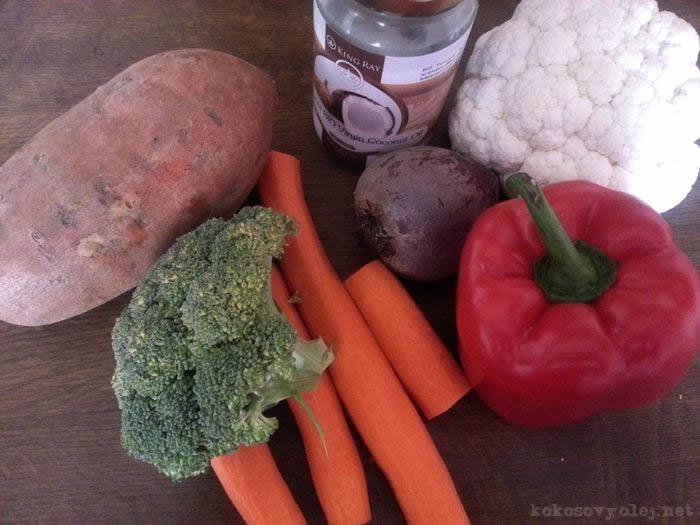 zdravá pečená zelenina
