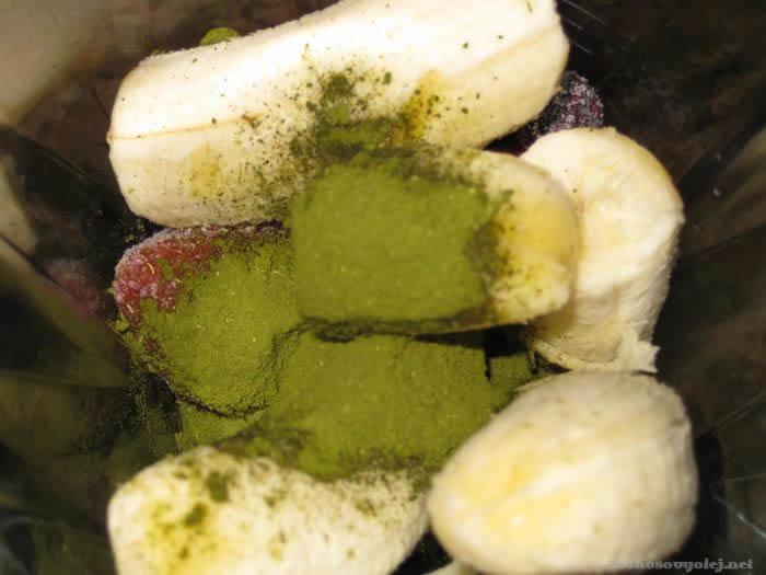 smoothies so zeleným jačmeňom pre zdravie