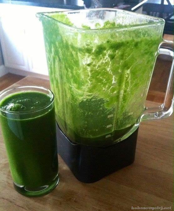 zelené smoothie pre zdravie