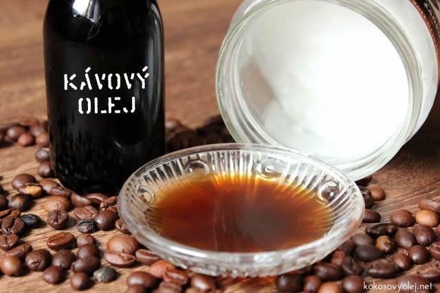 ako si ľahko vyrobiť výborný kávový olej