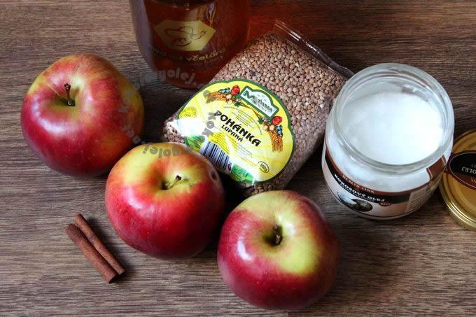 jednoduchý recept na sladký pohankový nákyp
