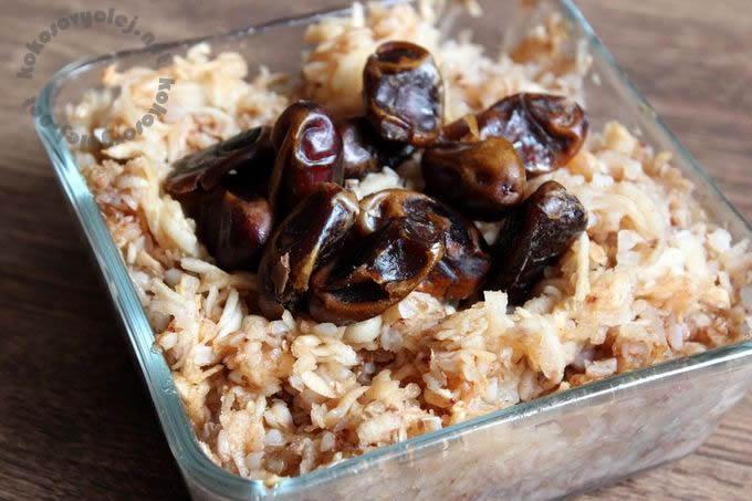 recept na sladký nákyp z lúpanej pohanky a jabĺk