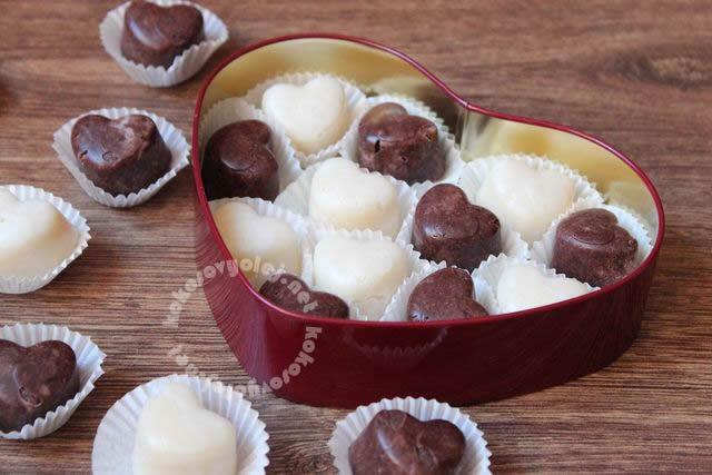 recept na zdravé kokosové pralinky