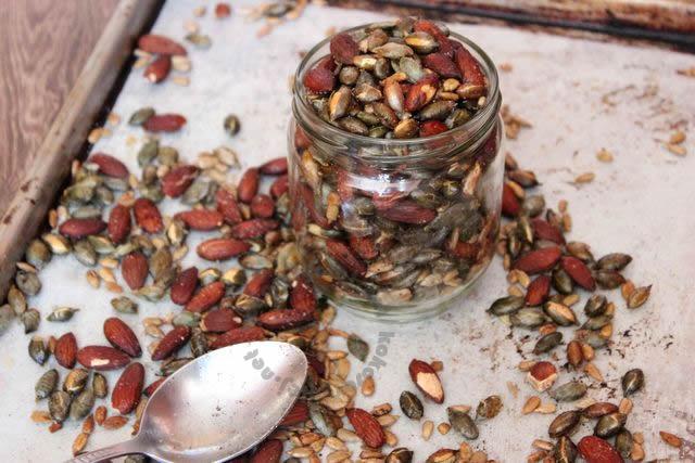 zdravý snack plný proteínov a minerálov