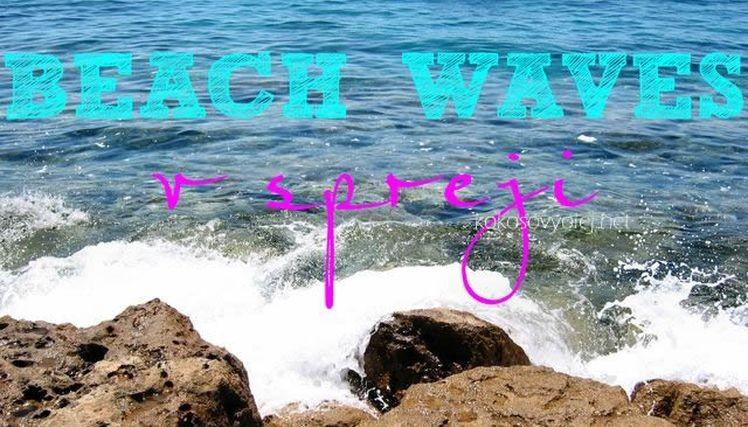 sprej na vlasy s morskou solou