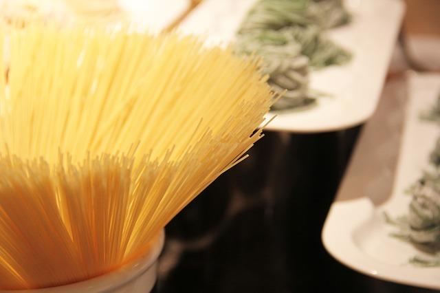 pasta spageti cestoviny