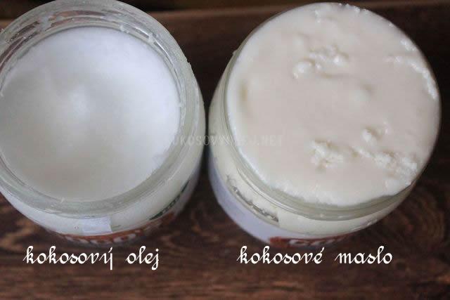 rozdiel medzi kokosovym olejom a kokosovym maslom