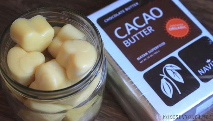 ako vybrat kakaove maslo