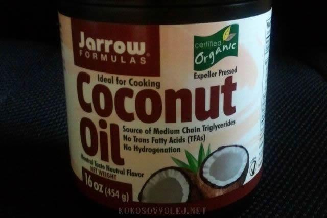 kokosovy olej na varenie organic
